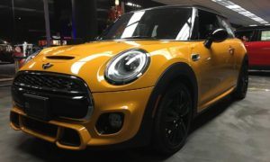 2015 Mini Cooper S for rent on maui