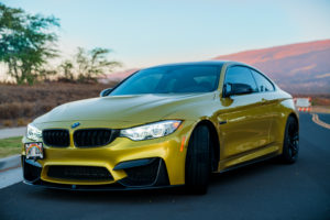 2015 BMW M4, Sports, Exotic, Specialty, Car Rental, Maui Mini Go!, Maui Hawaii, Front Pass Side View