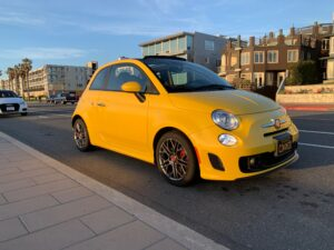 2017 Fiat 500c Abarth Manual